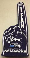 Seattle Seahawks Foam Finger 1 Fan Hand - 18 In Great For Game Day Party