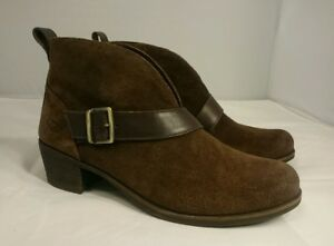 4b24335680d Details about SIZE 9 UGG Australia Wright Belted Women's Boots Brown Stout  1014184 Shoes NEW