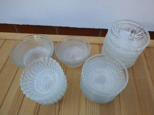 Schalen Glasschalen und Schälchen 5 Varianten zur Auswahl j15