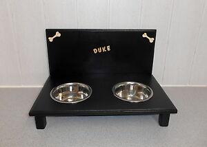 Gamelle pour chien / gamelle pour chien / à nourrir, tasse, noir, 1500 ml (08)