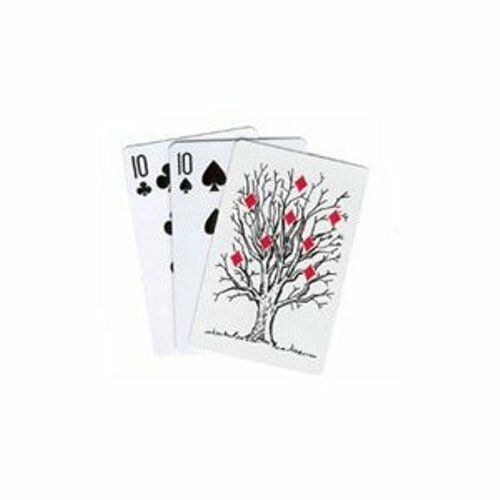 Funny Magic Trick Playing Cards Look Like a Master Magician Tree Card Monte