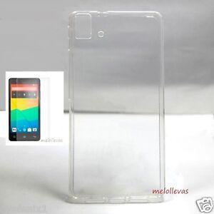 Funda-para-BQ-AQUARIS-E5-HD-Protector-Vidrio-opcional-Gel-Transparente-100