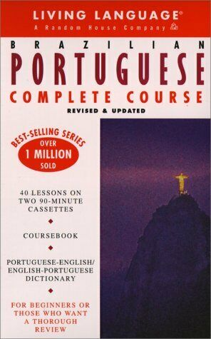 Basic Portuguese  Brazilian  Complete Course  Cassette Book Package