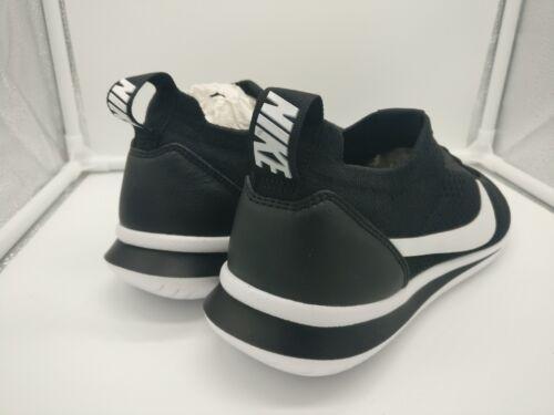 Uk 001 5 5 Aa2029 Flyknit Blanco Cortez Nike Negro wqtEnAA8