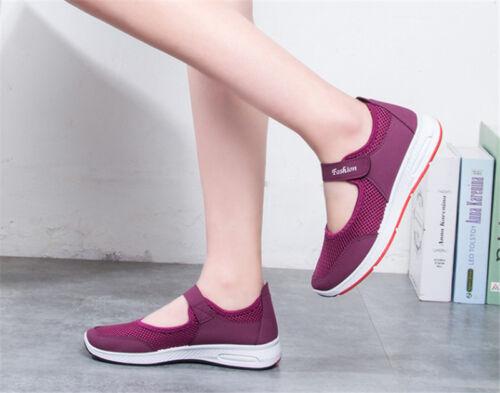 Womens Mesh Comfort Mary Jane Running Walking Sports Walk Sandals Shoes Trainers