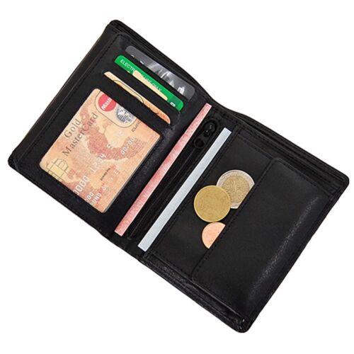 Branco Herren Geldbörse Leder Herrenbörse Geldbeutel Portemonnaie Börse 12005