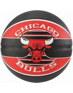 Spalding-NBA-Team-Chicago-Bulls-Durable-Rubber-Cover-Outdoor-amp-Kids-Basketball