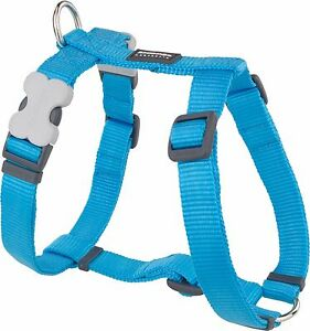 Red-Dingo-Plain-TURQUOISE-Harness-for-Dog-or-Puppy-Sizes-XS-LG-FREE-P-amp-P