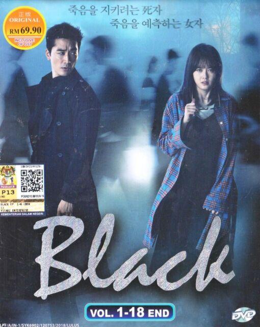 Korean Drama DVD Black (2017) English Subtitle Free Shipping
