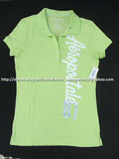 67% OFF! AUTH AEROPOSTALE 87 VERTICAL JERSEY POLO SHIRT LARGE BNW US$ 24.5+