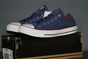 Converse Jeans All Eu 142235c Star Ensign Blau 5 Washed 38 Ox 5 Uk Chucks Low 6r5qFSO6w
