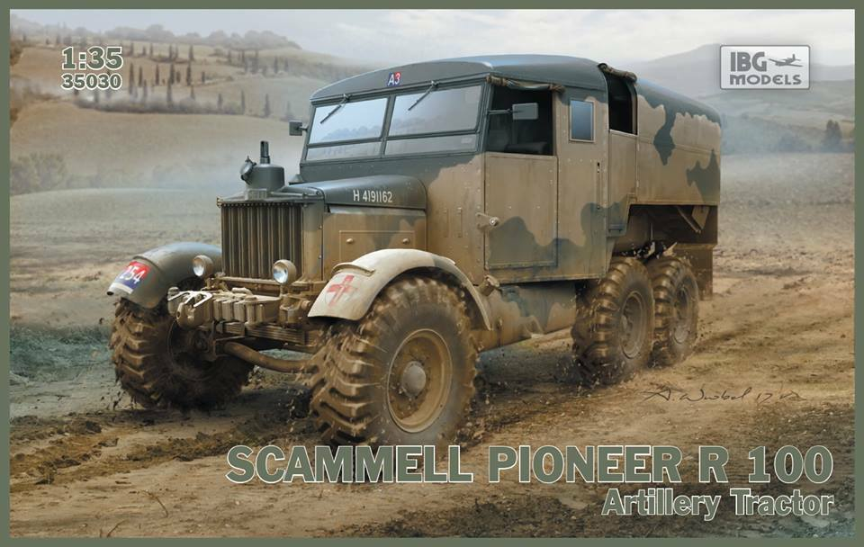 Scammell Pioneer R100 Artillery Tractor IBG 35030 1 35