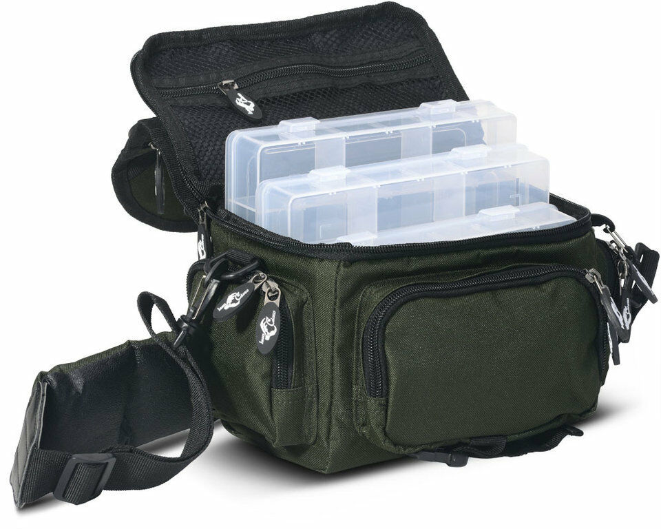 Iron Claw Buddy Bag Accessory Bag 3 Boxes Fishing Bag Bait Bag Spinner