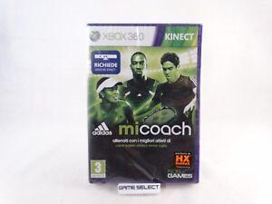 ADIDAS-MICOACH-MI-COACH-MICROSOFT-XBOX-360-KINECT-PAL-ITALIANO-NUOVO-SIGILLATO
