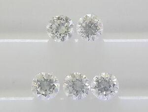 1-9mm-F-Color-5pc-0-14cts-Natural-Loose-Diamond-Lot-VS2-SI1-Clarity-Non-treated