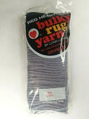 616 Spice 320 Pieces Red Heart Latch Hook Bulky Rug Yarn