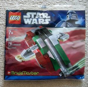 LEGO-Star-Wars-Brickmaster-Rare-Boba-Fett-Slave-I-20019-New-amp-Sealed