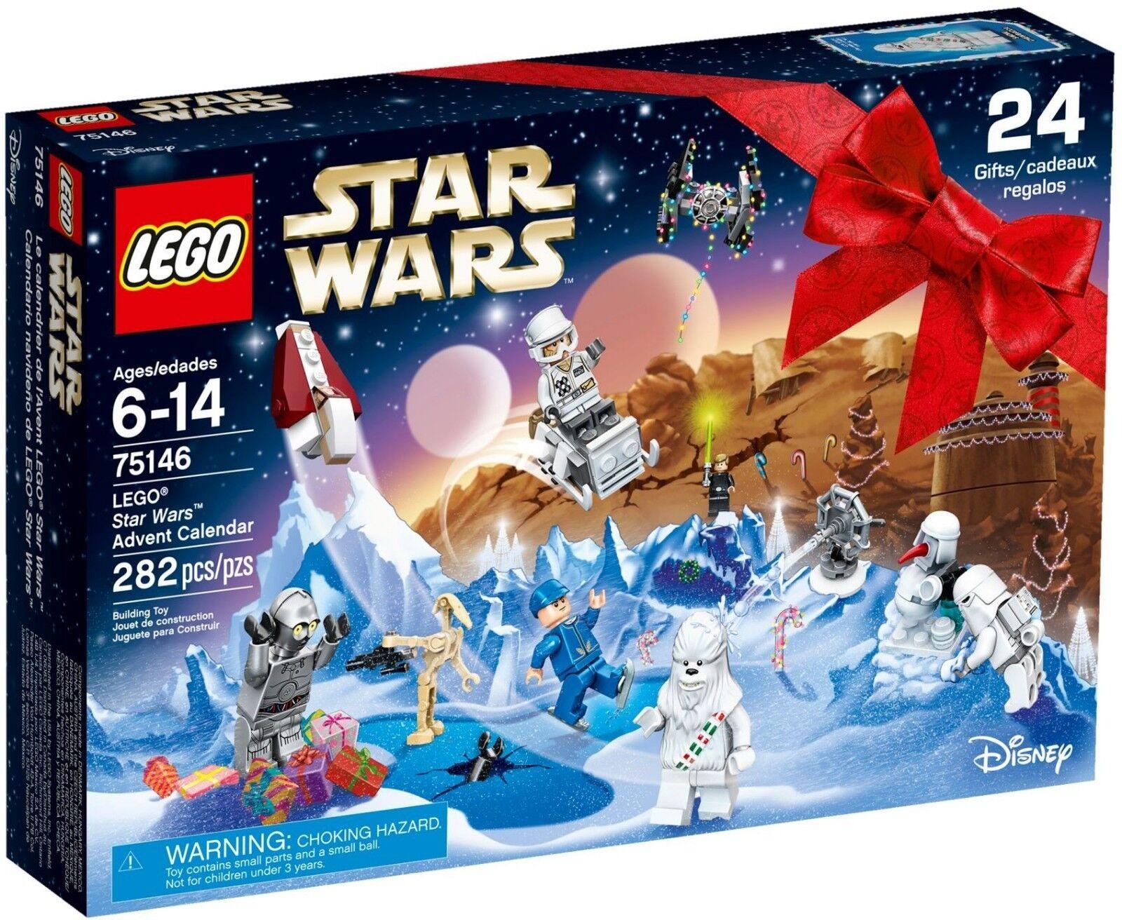 LEGO Star Wars 75146 2016 Advent Calendar Brand Nuovo in Sealed Box  Retirosso