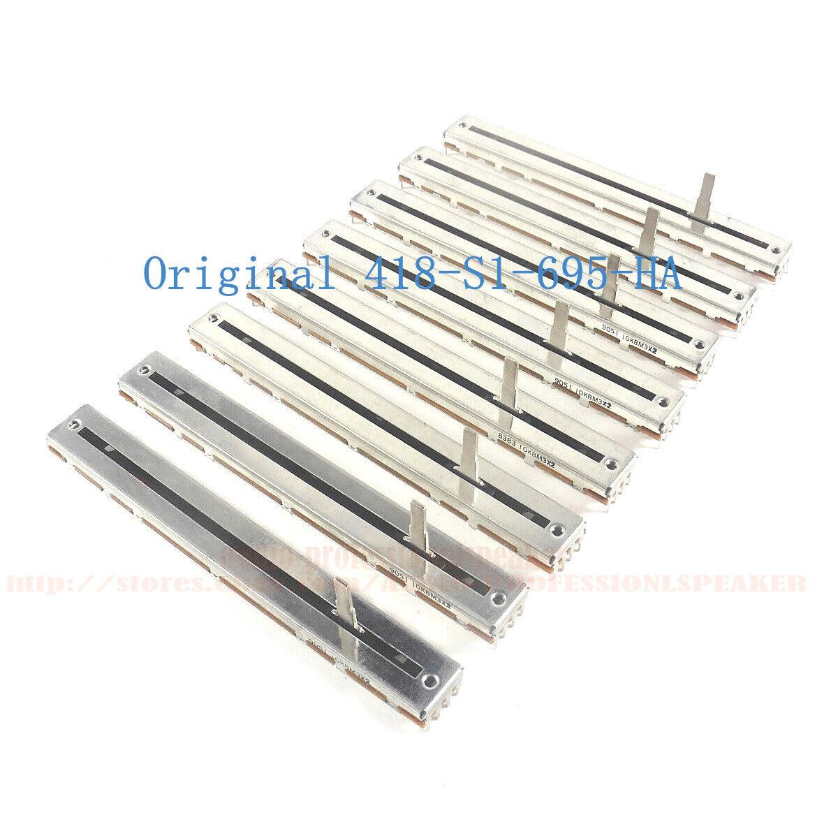 8 X Slide Pitch Tempo Fader For Pioneer DDJ-SX2 DDJ-SX2-N DDJ-SX DDJ-SX-W DDJ-RX