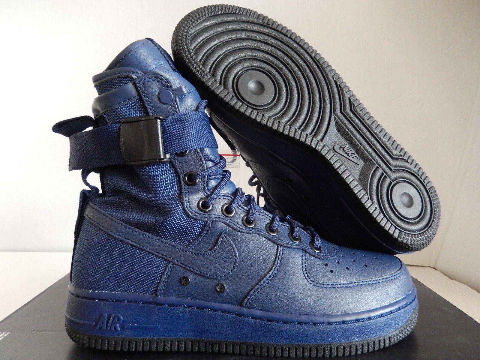 WMNS AIR FORCE 1 SF AF1 SPECIAL FIELD USA BINARY BLUE SZ 7.5 [857872-400]