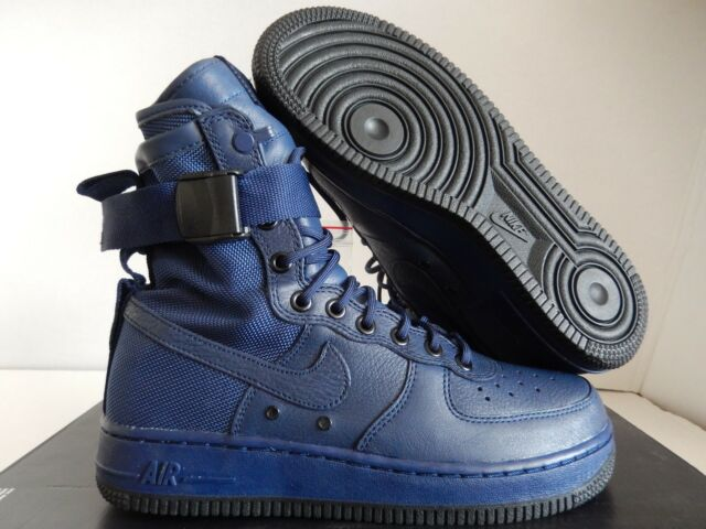 quality design d8a53 5c496 ... nike wmns sf af1 special field air force 1 binary blue 4  WMNS AIR  FORCE 1 SF AF1 SPECIAL FIELD ...