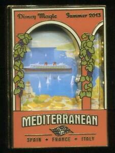 DCL Disney Magic Cruise Ship Mediterrantean Limited Edition Pin Summer 2013