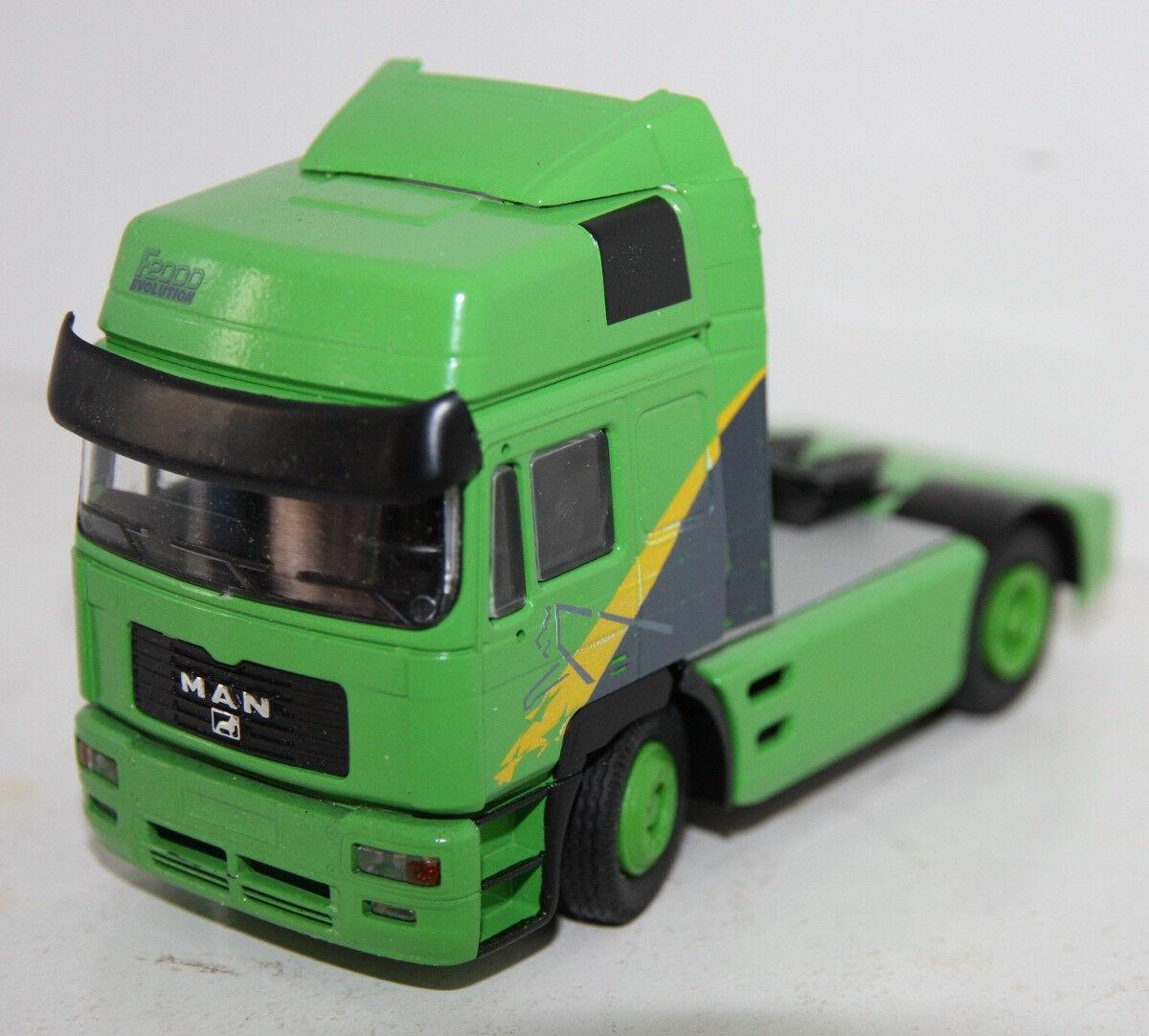 mas preferencial CON6100 04 - Camion Camion Camion 4x2 MAN F2000 verde - 1 50  deportes calientes