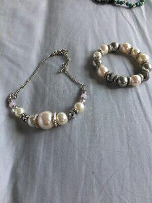 Fashion Jewelry Audacious Choker Neclace And Bracelet Set