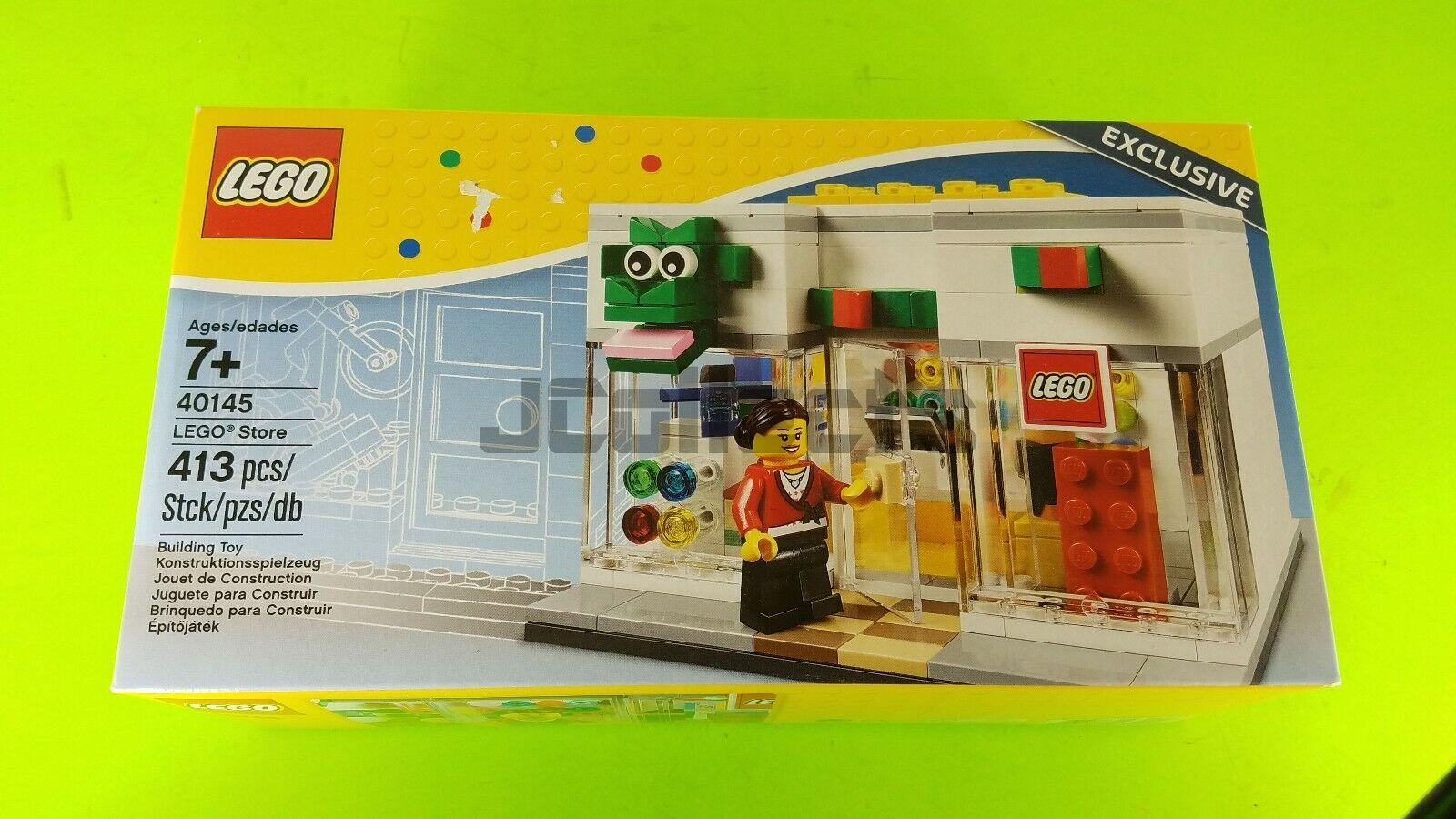 LEGO Bre Retail Store ( 40145),  Sealed, nuovo In scatola (NIB), negozio, Mtutti, Cashier  fino al 42% di sconto