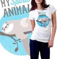 Hilarious Cute Ladies' Sloth T-shirt - Brand - Free Shipping -