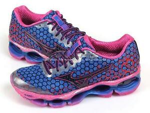 check out aed69 dd3f1 Image is loading Mizuno-Wave-Prophecy-3-W-Blue-Navy-Pink-