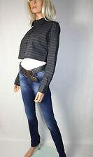 Cora Kemperman Designer  Kurze, weite Bluse  Gr. XL  Lagenlook   Grau