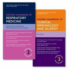 OXFORD HANDBOOK OF RESPIRATORY MEDICINE AND OXFORD HANDBOOK OF CLINICAL IMMUNOLO
