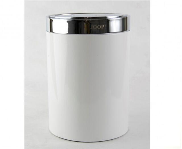 lowest price hot products 100% quality Joop 010090010 Badeimer mit Schwingdeckel Kosmetikeimer Chromline Chrom  WEISS