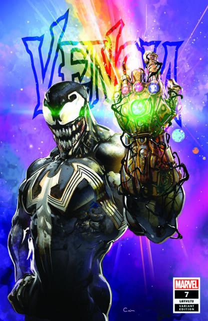 Venom 7 Marvel 2018 Clayton Crain Infinity Gauntlet Trade Variant Dylan Brock