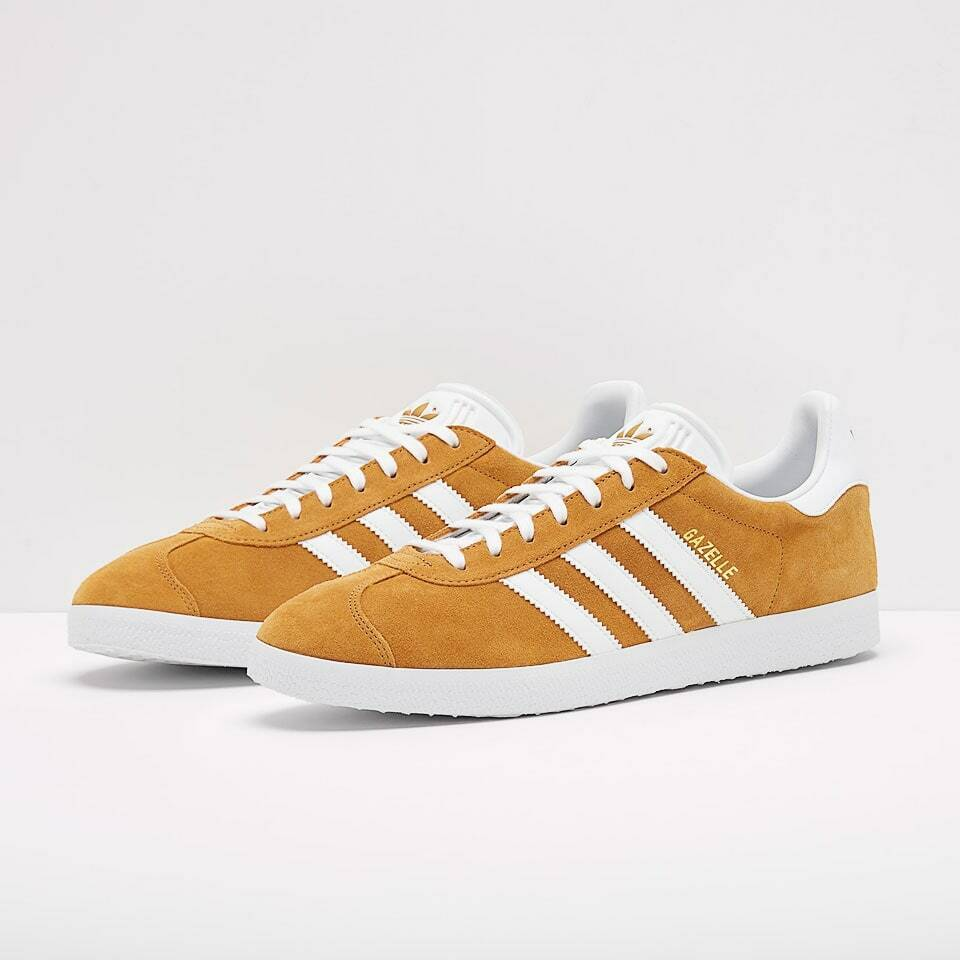 zapatos ADIDAS ORIGINALS GAZELLE GAZZELLE hombres B41653 amarillo SENAPE NUOVE ORIGINA