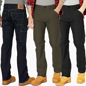 5e40e25305 Image is loading Levis-Work-Jeans-Mens-Workwear-505-Utility-Regular-