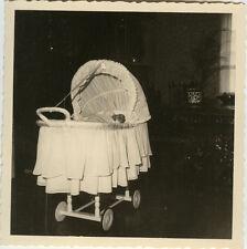 PHOTO ANCIENNE - VINTAGE SNAPSHOT - ENFANT BÉBÉ LANDAU - CHILD BABY CARRIAGE