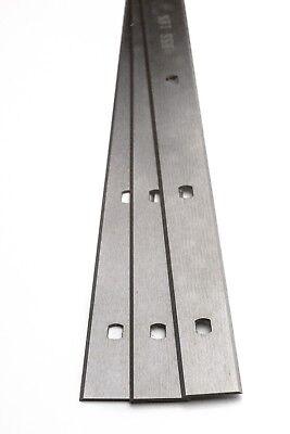 TCT 410 x 30 x 3 mm Une paire de raboteuse//TOUPIE d/'établi lames Inc TVA