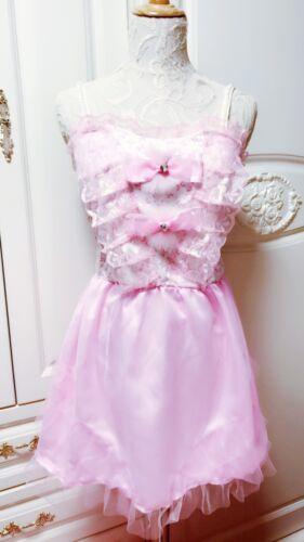 **US SELLER**LOLITA BARBIE BOWTIE RAINBOW AGEHA LIZ LISA DRESS SHIBUYA JAPAN