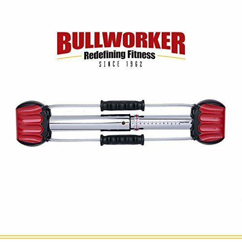 Bullworker 20 Steel Bow - Full Full - Body Workout - Portable Home Gym Isometric Exerc 749179