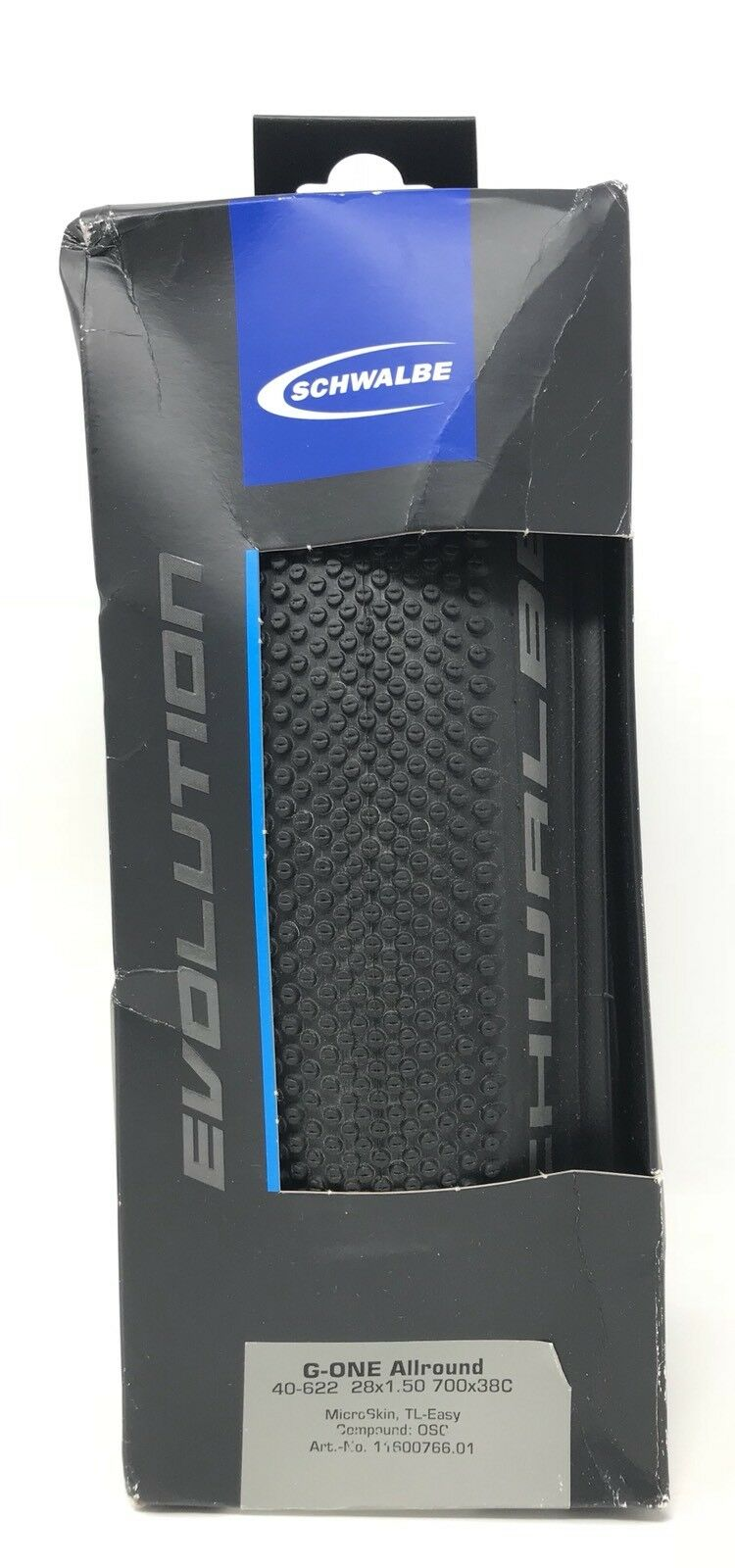 Schwalbe G-ONE  Allround Tire, 40-622 28x1.50 Tubeless Gravel Tire 700x38C  online at best price