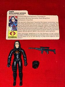 1984 Baroness Complete GI Joe Figure