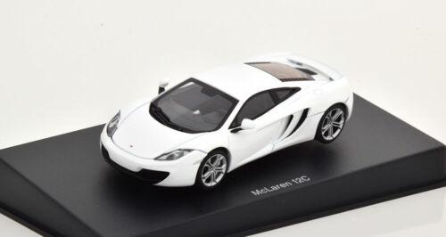 1:43 AUTOart McLaren MP4-12C 2011 white