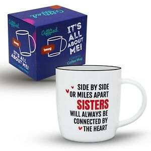 Best Sister Ever Gift Coffee Mug Birthday Gift Unique Christmas ...