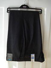 M&S Mens Trousers Wool Blend Active Waist Performance 40W 31L Grey dress/ work