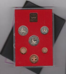 1981 STANDARD ROYAL MINT PROOF SET OF 6 COINS WITH TARNISH ON SOME COINS
