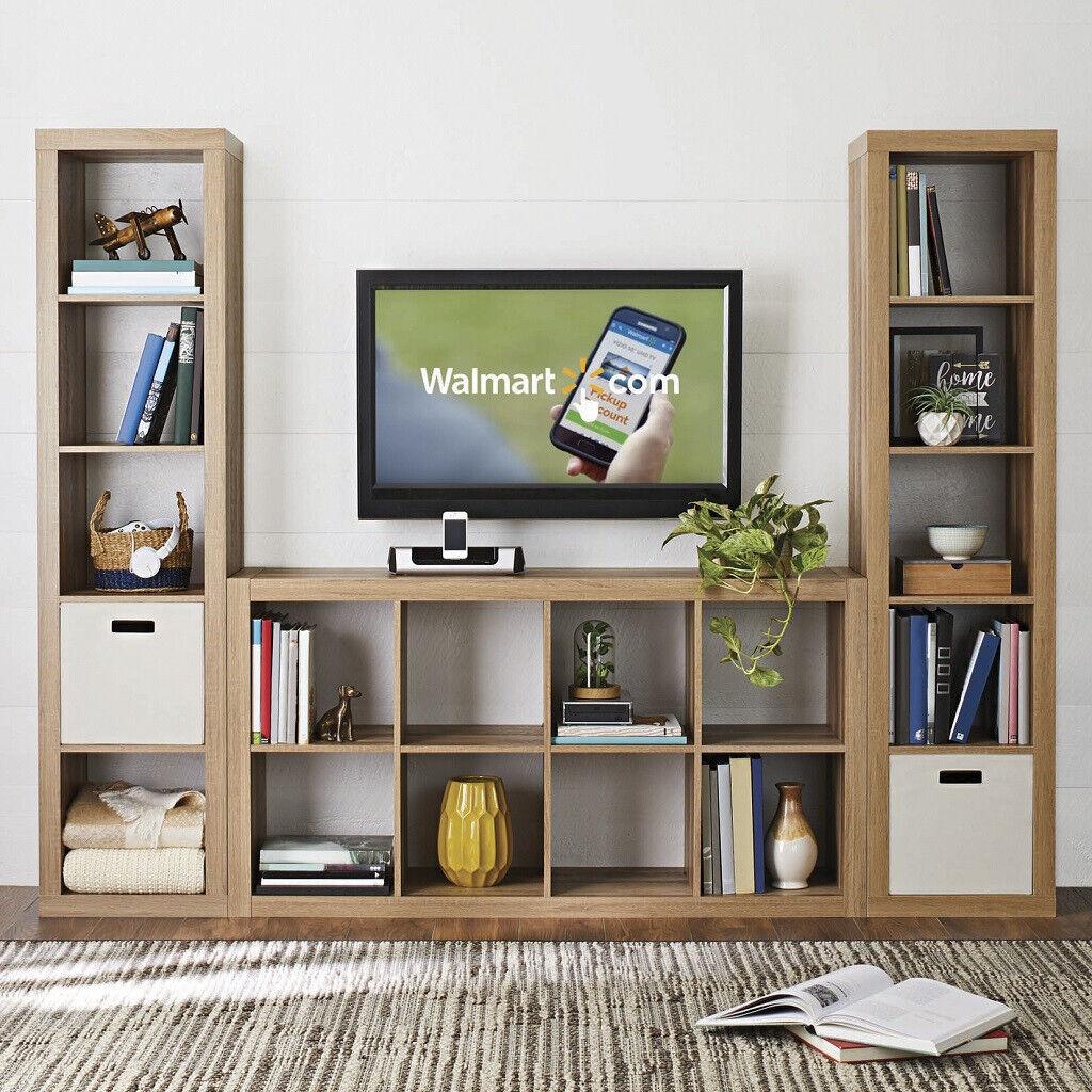 8 Cube Storage Organizer Home Horizontal Vertical Wooden Cabinet Bookcase Rack