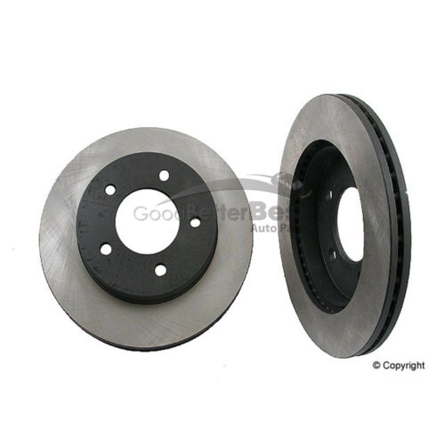 One New OPparts Disc Brake Rotor Front 40518052 for Ford F-150 F-150 Heritage