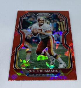 2020 Panini Prizm Joe Theismann Red Ice Washington Redskins HOF HTTR #185